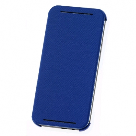 HTC HC V941 - Husa flip pentru HTC ONE M8 - albastru