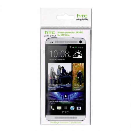 HTC SP P910 - folie de protectie ecran pentru HTC One M7 - 2 bucati