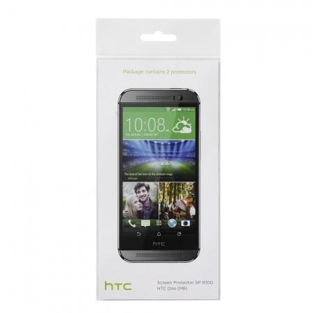 HTC SP R100 - Folie de protectie ecran HTC ONE M8 - Pachet 2 buc