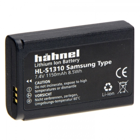 Hahnel Acumulator replace Samsung tip BP-1310 7.4v 1150mAh HL-S1310 - RS125001749