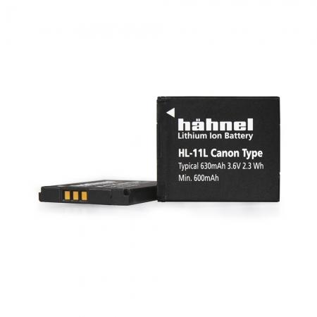 Hahnel HL-11L - Acumulator replace pt Canon NB-11L- 3.6 V, 630mAh, 2.3Wh