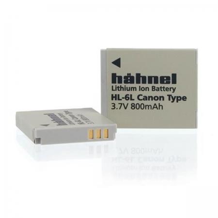 Hahnel HL-6L - Acumulator replace pt Canon NB-6L- 3.7 V, 800mAh, 3Wh