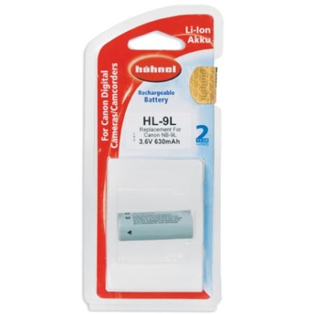 Hahnel HL-9L - acumulator Li-Ion tip Canon NB-9L (3.6V630mAh 2.3Wh)
