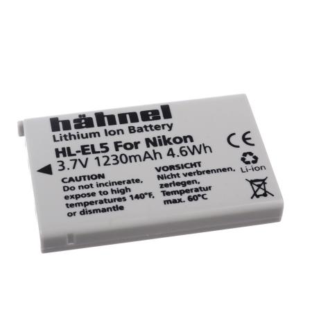 Hahnel HL-EL5 - acumulator replace pentru Nikon tip EN-EL5, 1230 mAh