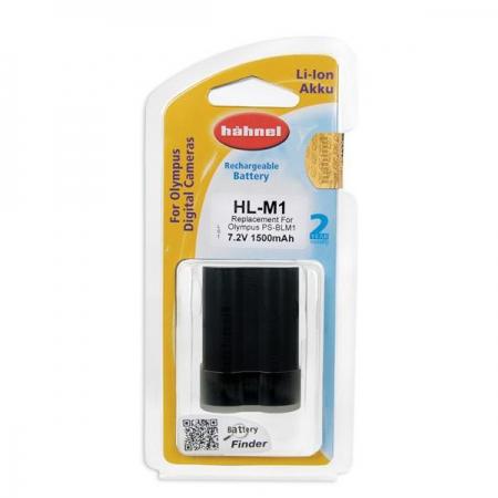 Hahnel HL-M1- acumulator replace tip Olympus PS-BLM1 1500mAh
