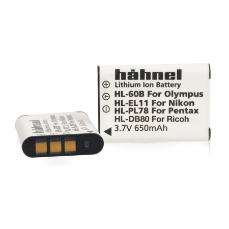 Hahnel HL-PL78 - Acumulator Li-Ion tip Pentax D-Li78, 3.7V 650mAh