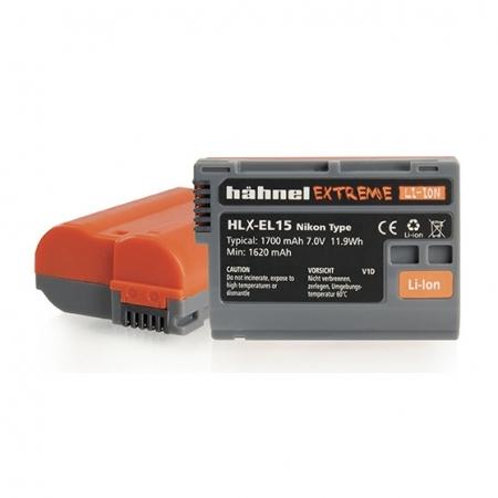 Hahnel HLX-EL15 - acumulator replace tip Nikon EN-EL15, 1700mAh