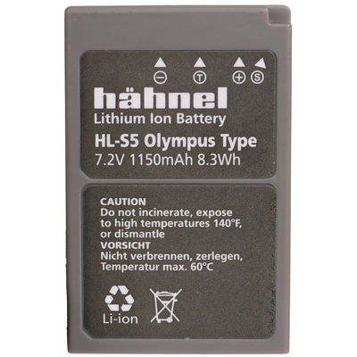 Hahnel HLS5 - acumulator replace tip Olympus BLS5, 1150mAh