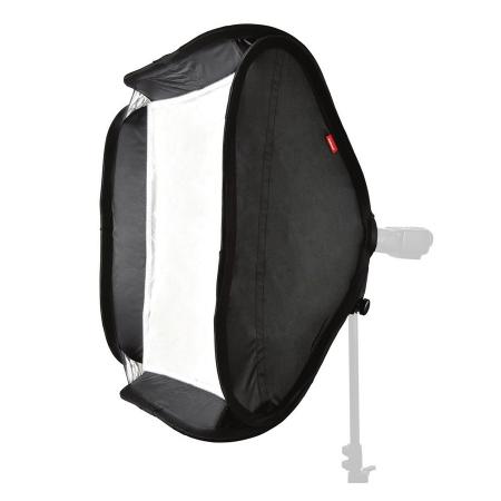 Hahnel - kit softbox 60 x 60 cm pentru blituri pe patina