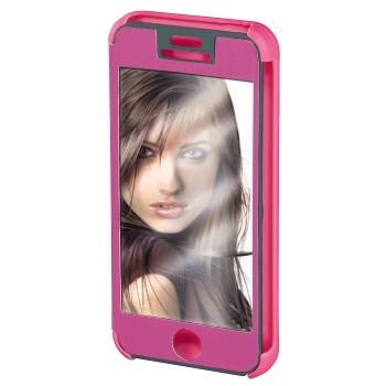 "Hama Booklet ""Mirror"" - husa de protectie iPhone 5/5s - roz"