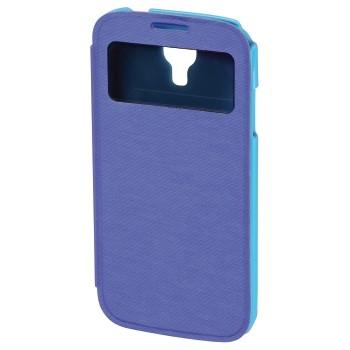 """Hama Booklet """"Window"""" - husa de protectie Samsung Galaxy S4 - albastru"""