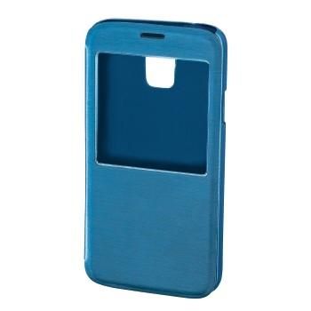 """Hama Booklet """"Window"""" - husa de protectie Samsung Galaxy S5 - albastru"""