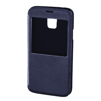 "Hama Booklet ""Window"" - husa de protectie Samsung Galaxy S5 - albastru inchis"