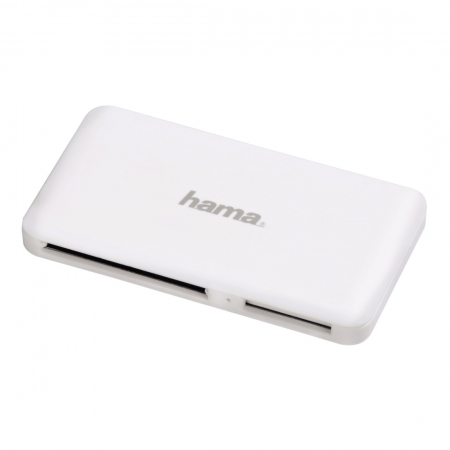 Hama - Cititor de Carduri, All in One, USB 3.0, Alb
