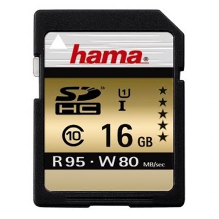 Hama SDHC 16GB Clasa 10 UHS-I 95MB/S - RS125012965