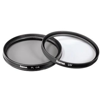 Hama - kit filtre UV si polarizare circulara - 72mm