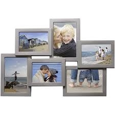 Henzo Holiday Rama pentru 6 fotografii, argintie