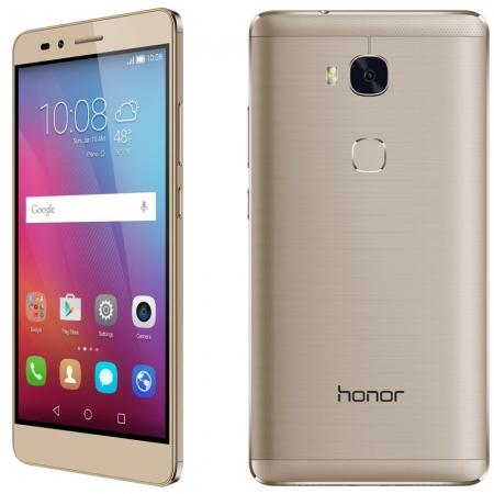 Honor 5X - 5.5'', Dual SIM, Octa Core, 2 GB RAM, 16GB, LTE - Auriu