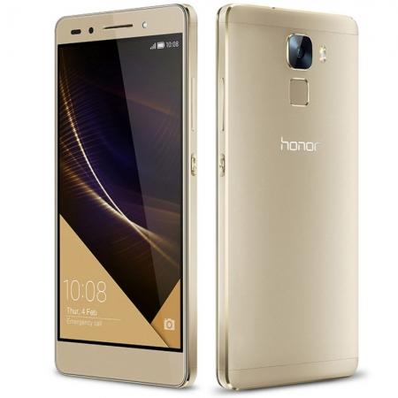 Honor 7 - 5.2'', Dual SIM, Octa Core, 3 GB RAM, 16GB, LTE - Auriu Premium
