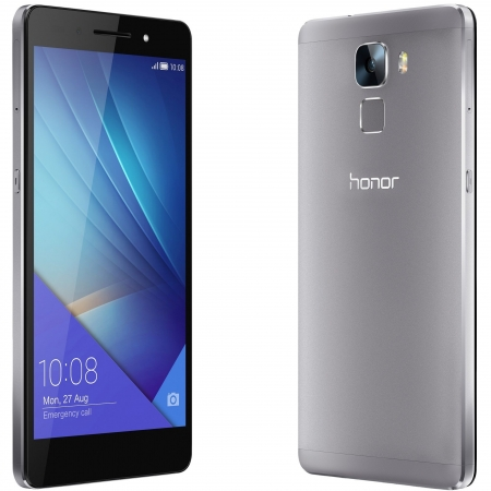 Honor 7 - 5.2'', Dual SIM, Octa Core, 3 GB RAM, 16GB, LTE - Gri