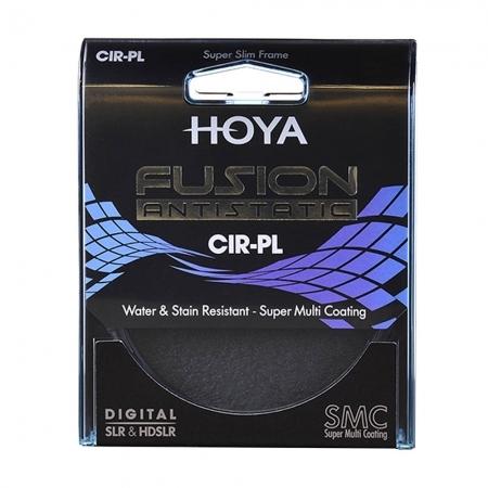 Hoya FUSION Antistatic - Filtru Polarizare Circulara 43mm