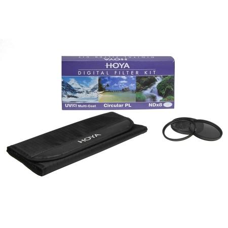 Hoya Filtre Set Pol.-C+NDX8 +HMC UV (C) 46mm RS1042636