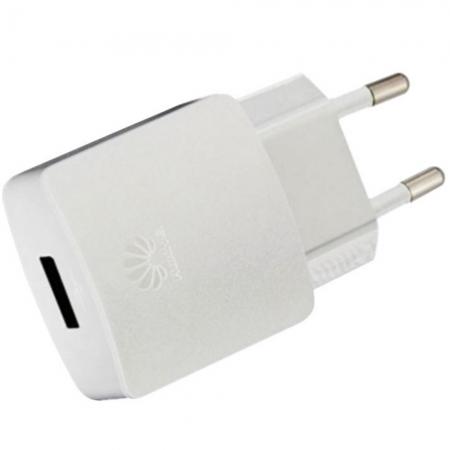 Huawei AP32 -  Incarcator retea rapid, 1 X USB, 2000 mAh, cablu incarcare inclus - Alb