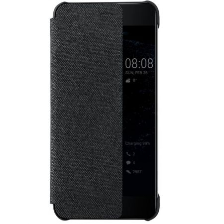 Huawei P10 Husa tip Smart View Cover-gri inchis - RS125034676-1