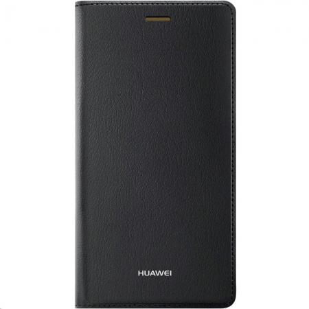 Huawei P8 Lite - Husa tip Flip Cover - Maron