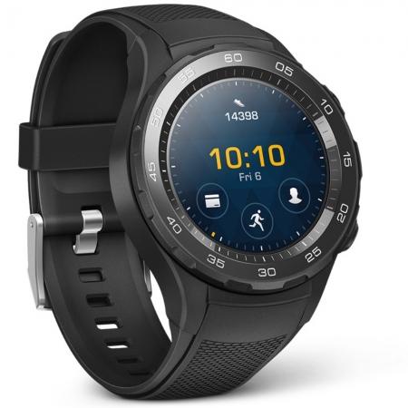Huawei Watch 2 - Smartwatch cu Bluetooth, Negru