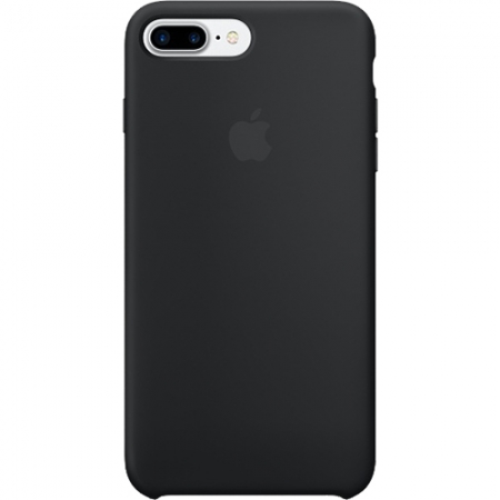 Husa Capac Spate APPLE Silicon Negru Apple iPhone 7 Plus - RS125030527