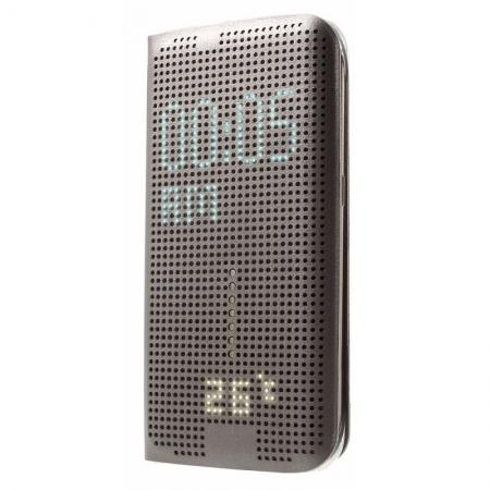 Husa Dot View pentru Samsung S6 - Argintiu