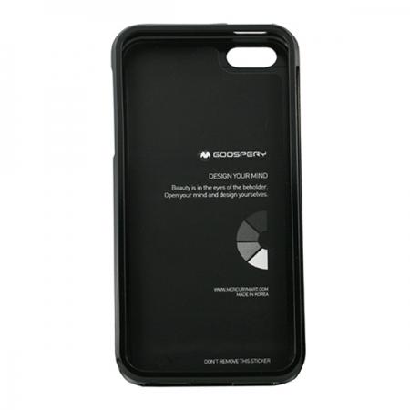 Husa My-Jelly iPHONE 5/5S Negru