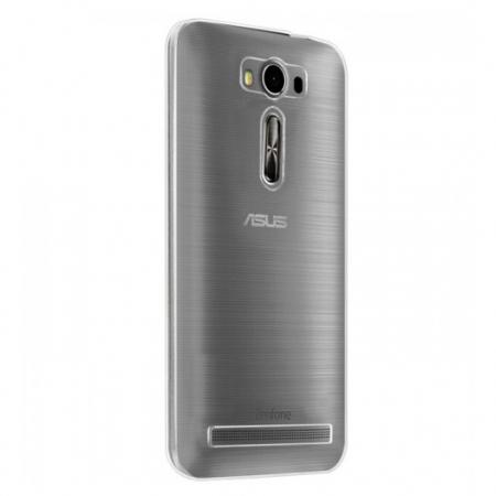Husa de protectie Slim TPU pentru Asus Zenfone 2 Laser ZE500KL, Transparenta
