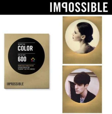 Impossible 600 color RoundFrame gold