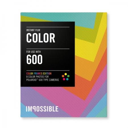 Impossible Color - film instant pentru Polaroid 600 - rama colorata