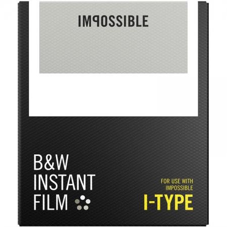Impossible Film 4521 B&W pentru Polaroid I-Type