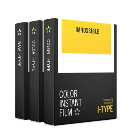 Impossible Film Pachet triplu pentru Polaroid I-type(2x4520, 1x4521)