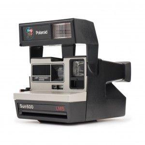 Impossible Polaroid 600 80s Style - aparat foto Instant conditie B