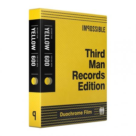 Impossible Third Man Records Black & Yellow - pentru Polaroid 600