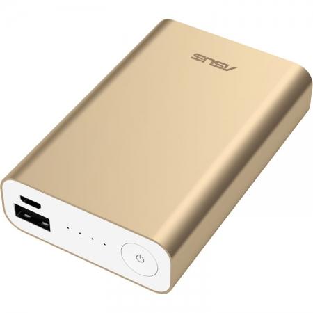 Incarcator portabil universal ZenPower, capacitate baterie 10050 mAh, auriu