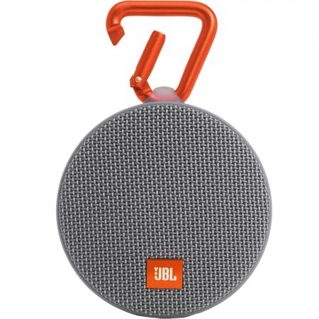 JBL Clip 2 - Boxa portabila waterproof, Gri