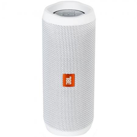 JBL Flip 4 - Boxa portabila wireless, Alb