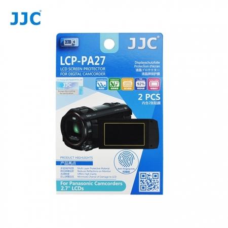 JJC - Folie protectie LCD pentru Camere Video Panasonic, 2.7