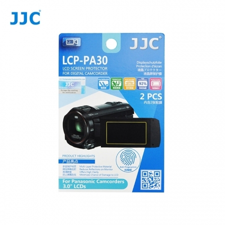 JJC - Folie protectie LCD pentru Camere Video Panasonic, 3.0