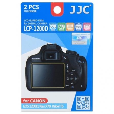 JJC -  Folie protectie LCD pentru Canon EOS 1200D, 2 buc.