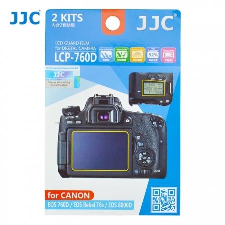 JJC - Folie protectie LCD pentru Canon EOS 760D, 2 buc.
