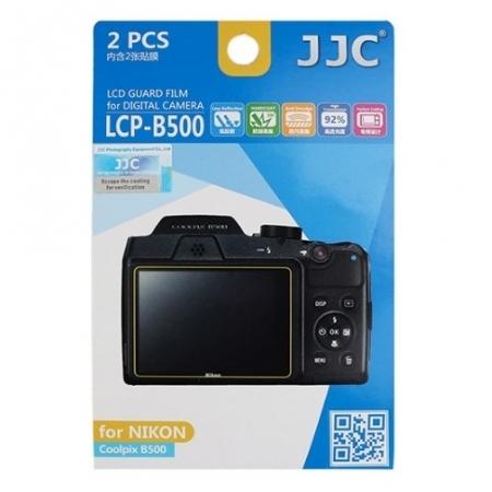 JJC -  Folie protectie LCD pentru Nikon Coolpix B500, 2 buc.