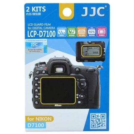 JJC -  Folie protectie LCD pentru Nikon D7100/ D7200, 2 buc.