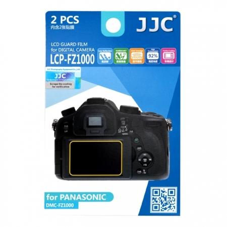 JJC - Folie protectie LCD pentru Panasonic Lumix FZ1000, 2 buc.